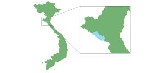 Location of Pu Mat National Park