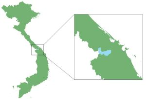 Location of Hue SNR, Quang Nam SNR, and the Bach Ma extension