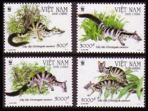 Owston's civet stamps