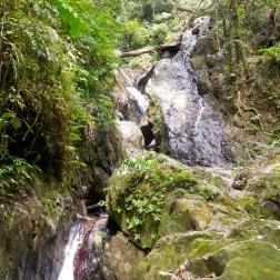 Steep terrain in Xe Sap