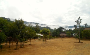 Just arriving to Aur village