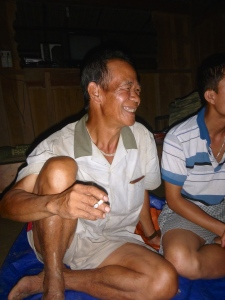 Mr. Tren, village headman